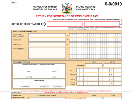 Online Submission of Employee Tax (PAYE) through ITAS